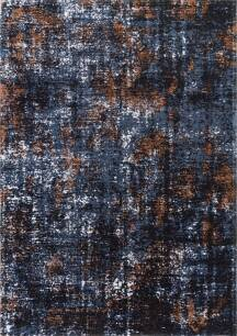 Dywan Carpet Decor Flame Rusty Blue