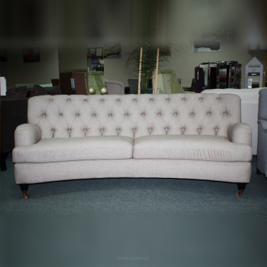 Sofa Don Royal Club Curved 3os.+ tkanina