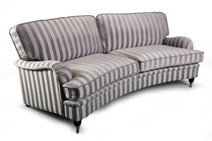 Sofa czteroosobowa tkanina Don Royal Curved EsteliaStyle