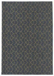 Dywan Carpet Decor Cube Golden